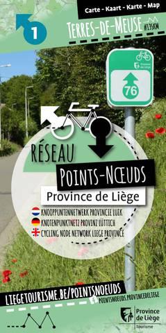 Carte du réseau point-noeuds en Terres-de-Meuse