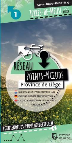 Cycling node network in the Terres-de-Meuse