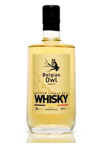 Bouteille de Whisky belge
