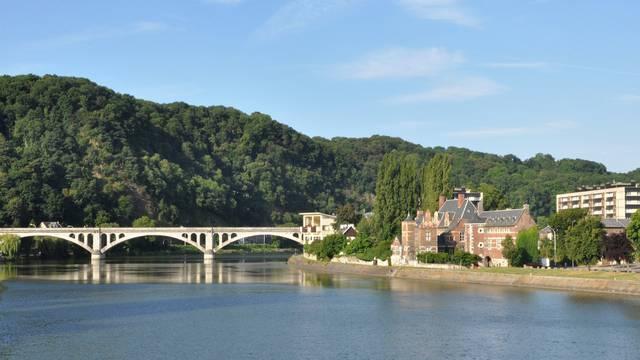 La Meuse à Huy - Serge Pêcheur