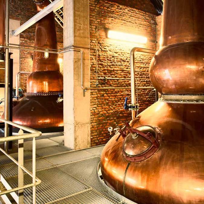 Alambic distillerie Belgian Owl