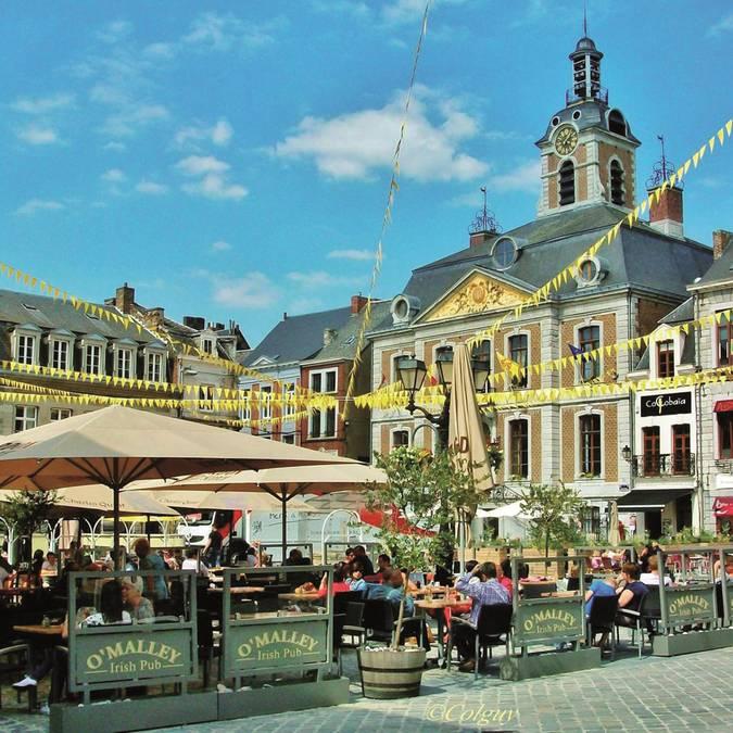 Grand Place de Huy © Colguy