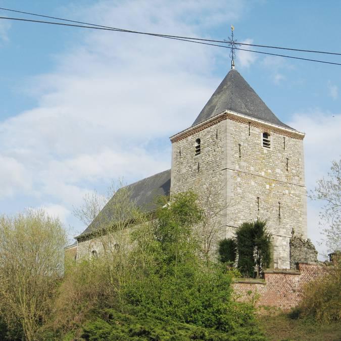 Church Saint-Hubert - Lens-sur-Geer