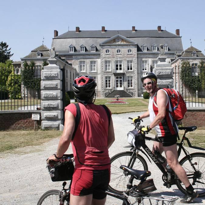Parcourez la région à vélo