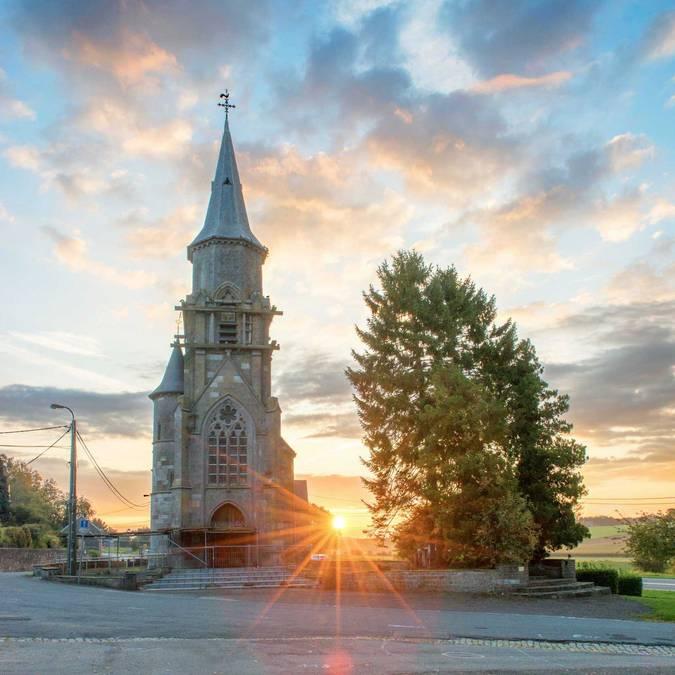 Eglise de Scry - copyright C. Denoël
